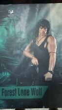 1/6 Rambo Forest Lone wolf hot toys sideshow Stallone rare