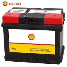 Shell SR2 Autobatterie 12V 64AH Starterbatterie ersetzt 55Ah 56Ah 60Ah 61Ah 65Ah