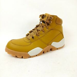 Nike Rhyodomo Mens Wheat Leather Comfort Water Resistant Trail Boots UK 8.5