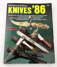 Knives 1986 6th Annual Edition knife directory knifemaker bowie folding 86