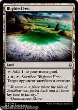 BLIGHTED FEN Battle For Zendikar Magic MTG cards (GH)