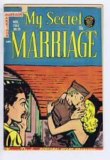 My Secret Marriage #10 Superior Pub CANADIAN EDITION 1954