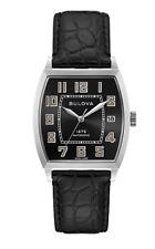 Joseph Bulova 96B329 Retro Automatic Limited Edition Banker Watch Box Papers