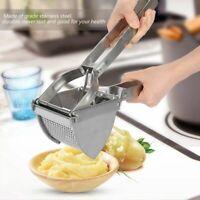 Puck Potato Ricer Masher Stainless Steel Fruit Juicer Vegetable Press Chopper
