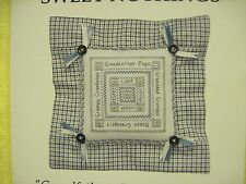 JBW Designs Sweet Nothings Grandfather: Love and Cherish cross stitch chart