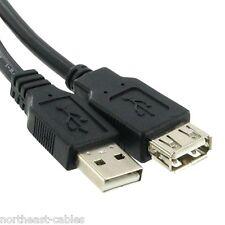 USB 2.0 5m Cavo di estensione Piombo Spina A-maschio o femmina Socket EXTENDER 5 Mtr