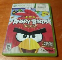 Angry Birds Trilogy Microsoft Xbox 360 Activision  Bink Video Rovio Everyone
