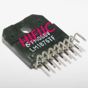 1PCS LM1876TF Dual 20W Audio Power Amplifier ZIP15