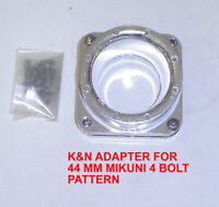 K&N 85-9445 AIR FILTER CARBURETOR ADAPTER 550 GP XL JET SKI YAMAHA
