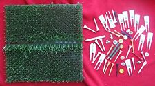 Various Golf Tees, Ball Markers, Pencils - from someone's golfing days in past