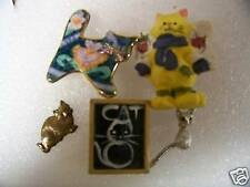 CUTE ANIMAL,CAT Lapel pins & Hat Pins or Tie Tacs #34