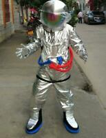 Spaceman Mascot Costume Suit Cosplay Party Adults Fancy Dress Astronaut Parade