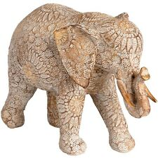 RESIN ELEPHANT SCULPTURE - BEAUTIFUL ADDITION TO ANY ROOM IN THE HOME