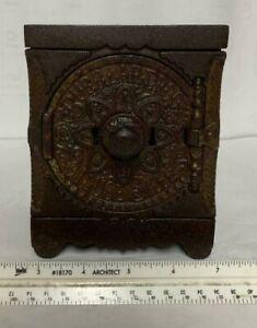 Vintage 1897 Burglar Proof House Safe