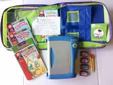 Leap Frog Leap Pad Learning System Plus Writing,Case, Books, Cartridges #30056