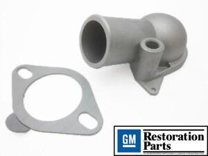 Corvette NEW GM Restoration Aluminum Thermostat Housing Chevrolet 1966-1973