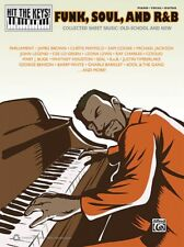 Funk Soul and R&B Sheet Music Hit the Keys Series Piano Vocal Book 000322407