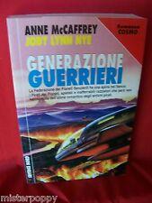 A McCAFFREY & J LYNN NYE Generazione Guerrieri 1998 NORD Cosmo Argento Prima Ed.