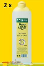 Agua de Colonia Natural Heno de Pravia 2 Fl a je 650 ml (GP 0,90€ / 100 ml).