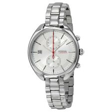 Fossil Women's Racer Analog Silver Dial Watch - CH2975