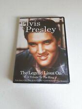 Elvis Presley The Legend Lives On A Tribute To The King DVD. Tom Jones Haley