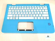 HP Stream X360 11-AA00NA Palmrest UK Keyboard AP1U4000370 V150402BS3 PK131U42B09