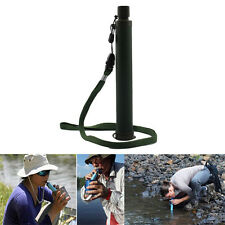 99.9999% Clean Water Filter Purification Emergency Survival Gear Outdoor Camping
