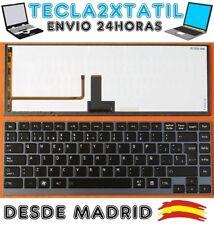 TECLADO ESPAÑOL TOSHIBA Portege Z830 Z835 RETROILUMINADO BACKLITE CON LUZ