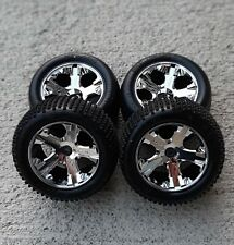 Traxxas Alias 2.8 Rustler Xl-5 Vxl Wheels And Tires Stampede Bandit 2wd new