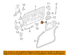 GMC GM OEM 04-05 Envoy XUV Tailgate-Lock or Actuator Latch Release 15778435