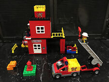LEGO DUPLO Duploville Fire Station with Firetruck 4664