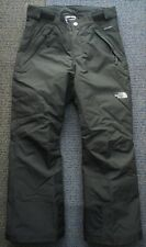 The North Face Girl's Freedom Insulated Pant Ski Snow Pants Black M Medium 10 12