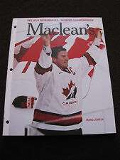 Maclean's Winter Olympics 2002 - Special Commemorative Issue - French