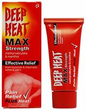 DEEP HEAT MAX STRENGTH FOR MUSCULAR & RHEUMATIC ACHES & PAINS - 35G