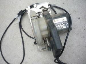 "Porter Cable heavy duty circular saw model 345 6"" Blade"