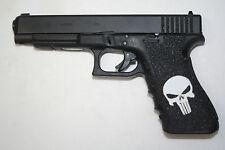 PUNISHER SKULL Inlay Gun Grip tape for pistol FITS 17 22 31 34 35 37 HANDGUN