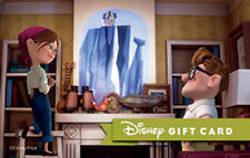 Disney Gift Card - Up Paradise Falls with Carl and Ellie - NO VALUE Collectable