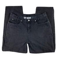 Pendleton Originals Women's Size 18 Denim Jeans Pants Straight Leg Pockets Black