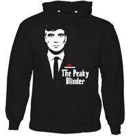 THE PEAKY BLINDER HOODIE Mens Funny Godfather Shelby Bros Unisex Tee Top Parody