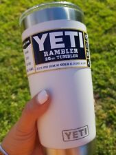 YETI Thermal Mug 20oz (590ml) Stainless Insulated Thermal Thermos Coffee Cup