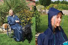 Regencape für Rollstuhlfahrer Rollstuhl Regenjacke