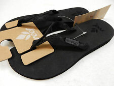 REEF WOMENS SANDALS GINGER BLACK SIZE 10