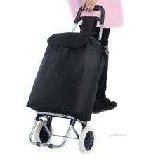 Shopping Cart with Wheels Folding Light Weight Large Capacity Waterproof Trolley