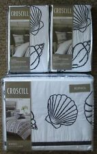 Brand New Croscill Montego Bay King Size Duvet Cover & 2 Shams Use As Bedspread