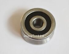 2pcs sealed ball tack roller 8*30*14mm Groove Ball V vgroove Bearing LV20//8 2RS