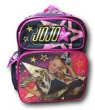 """JoJo Siwa Black Deluxe 16"""" School Bag Backpack"""