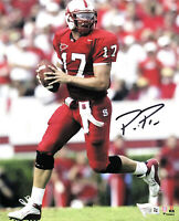 PHILIP RIVERS NC STATE HAND SIGNED AUTOGRAPHED 8X10 PHOTO WITH FANATICS COA 1