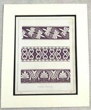Antique (Pre - 1900) Purple Original Art Prints