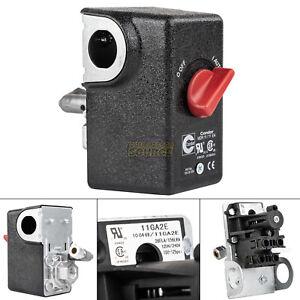 """Condor 11GA2E Pressure Switch Control Valve 100-125PSI 1 Port 1/4"""" FNPT MDR11/11"""
