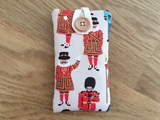 iPod Nano 7th / 8th Gen Fabric Padded Case - Cath Kidston Guards And Friends
